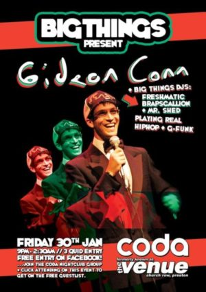 gig poster preston coda
