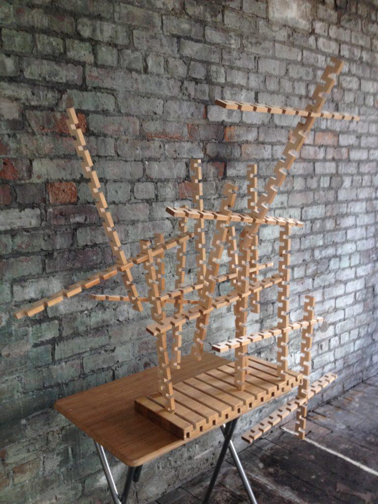sculpture table saw piece 2