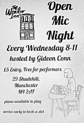 wonder inn open mic digi flier